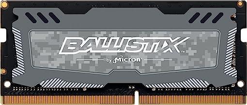 Crucial Ballistix Sport LT 2400 MHz DDR4 DRAM Laptop Gaming Memory Single 8GB CL16 BLS8G4S240FSD (Gray)