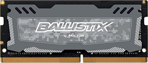 Crucial Ballistix Sport LT 2666 MHz DDR4 DRAM Laptop Gaming Memory Single 16GB CL16 BLS16G4S26BFSD (Gray)
