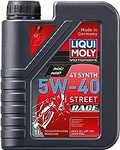 Liqui Moly 20076 Motorbike 4T Synthetic 5W-40 Race Engine Oil - 4 Liter