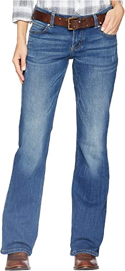 df053d53bc2 Wrangler western booty up low rise jeans