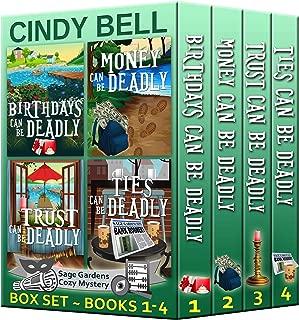 Sage Gardens Cozy Mystery Series Box Set Volume 1 (Books 1 - 4)