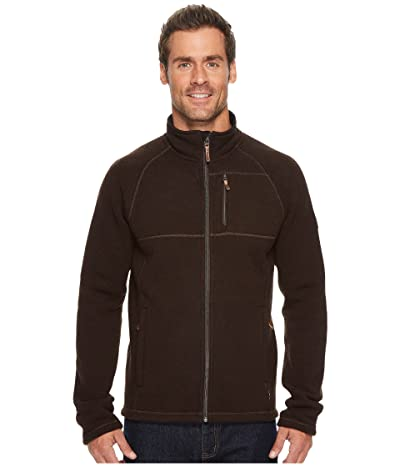Smartwool Echo Lake Full Zip Top (Sumatra Heather) Men
