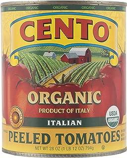 Cento San Marzano Cento Organic Italian Peeled Tomatoes, 28 Ounce (Pack of 6)
