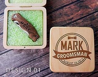 Pocket knife, pocket knives, custom pocket knife, custom knife, engraved knife, personalized knife, custom knives, groomsmen gift knife, gift for him, cool groomsmen gift, groomsmen knife, groomsman gift