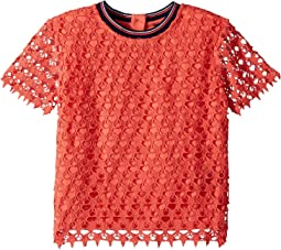 Lace Polo (Big Kids)