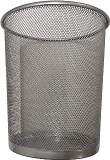 Divchi Corbeille circulaire en maille pour salle de bain, cuisine, bureau, dortoirs