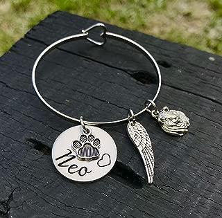Guinea Pig Memorial Bracelet | Guinea Pig Memorial Jewelry | Rainbow Bridge Jewelry | Pet Memorial Jewelry | Pet Sympathy Gift | Keepsake