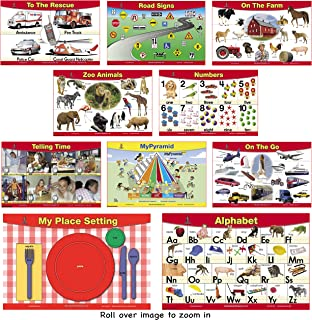 10 Place Mats for Young Kids Special Value