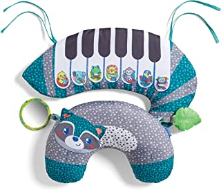 Infantino Grow With Me 3 N 1 Tummy Time Piano| Kick & Play|Sit & Play Fun| Tummy Time| Removable teether|Interactive Music|