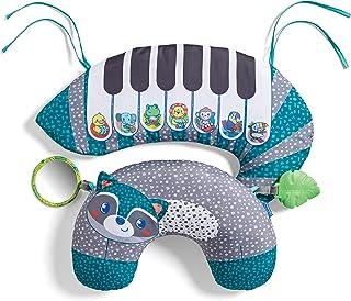 Infantino 3-en-1 Tummy Time Piano – Coussin de jeu et piano pour bébé dès la naissance – Avec + de 20 mélodies – Favorise ...