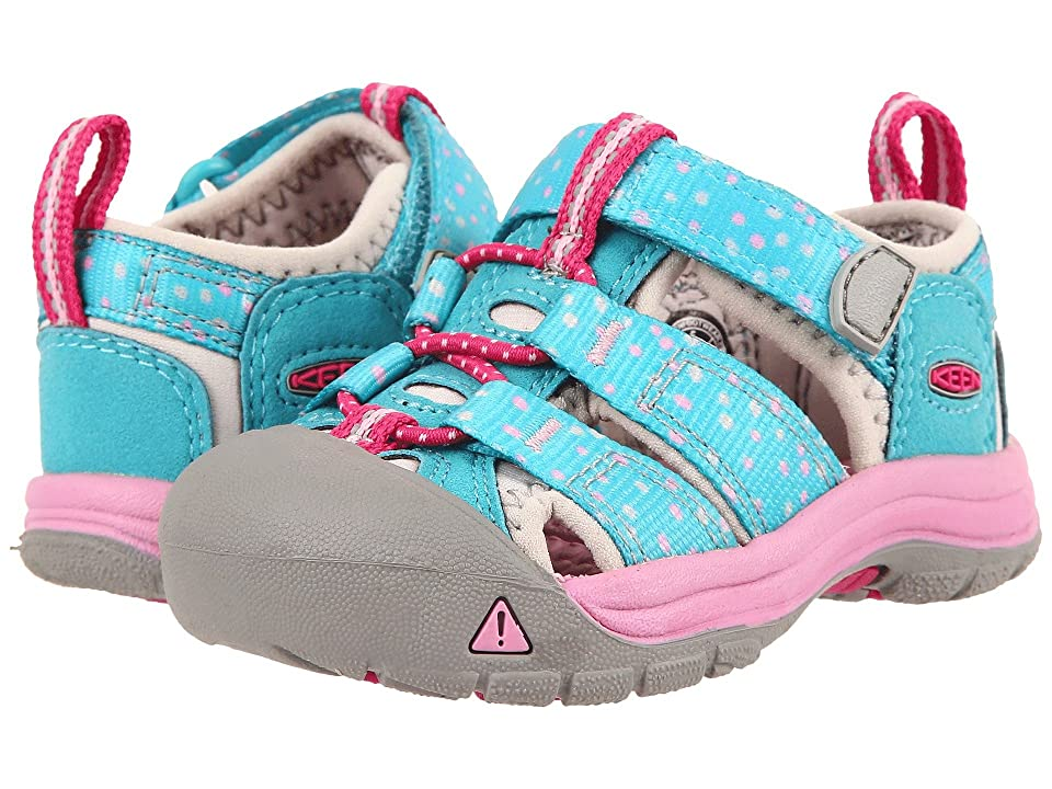 Keen Kids Newport H2 (Toddler) (Viridian Dots (Prior Season)) Girls Shoes