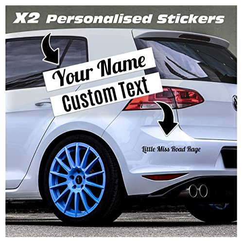 Custom Text Car Sticker Personalised Name Lettering Stickers Vinyl Decal 20cm