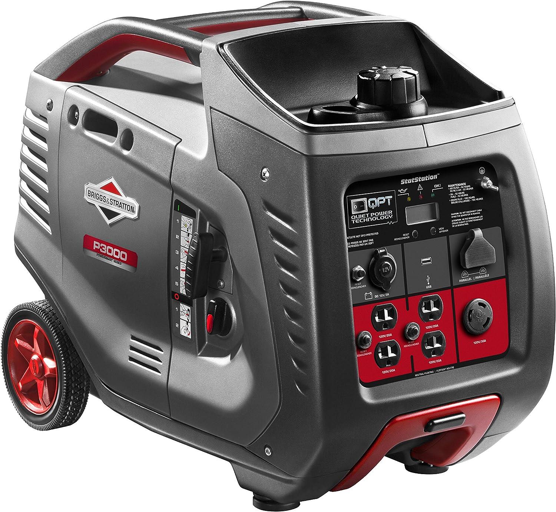 Briggs & Stratton P3000 Portable 3000-Watt Inverter Generator