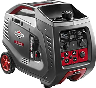 Briggs & Stratton P3000 PowerSmart Series Inverter Generator with LCD Display and..