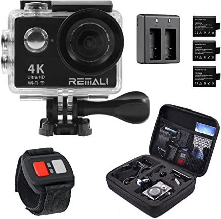 4K Sports Action Camera by REMALI, The Best Action Camera...