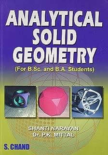Analytical Solid Geometry [Jun 01, 2007] Mittal, P.K. and Narayan, Shanti