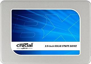 """Crucial BX200 SSD Interno da 240 GB SATA 2.5"""" con Adattatore"""