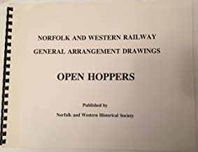 Norfolk and Western General Arrangement Drawings Open Hoppers