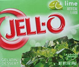 Jell-O Lime Flavor Gelatin (4-Pack)