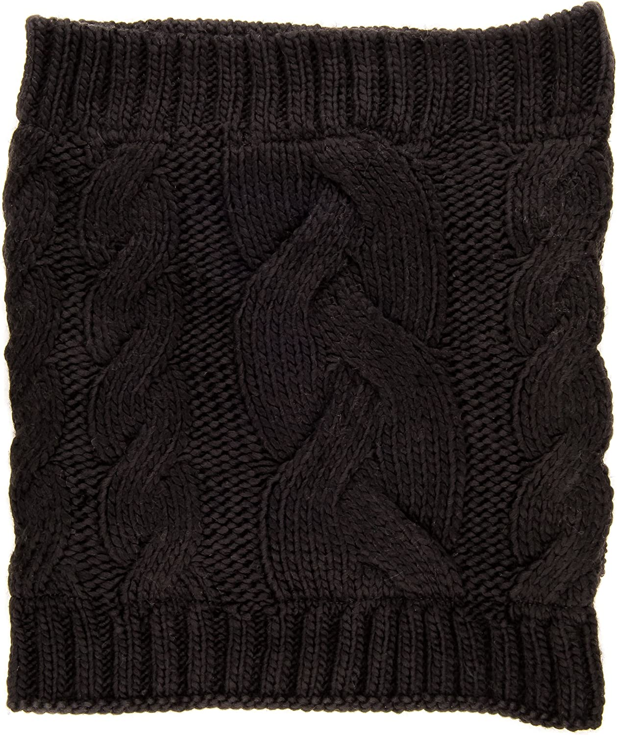 Noble Mount Mens Cable Knit Toaster Snood Scarf