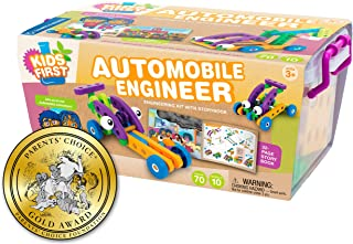 Kids First Automobile Engineer Kit | STEM | 32 Page Full-Color Illustrated Storybook |..