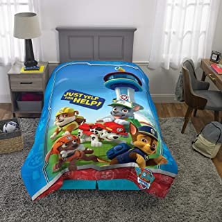 "Franco Kids Bedding Super Soft Microfiber Comforter, Twin Size 64"" x 86"", Paw Patrol"