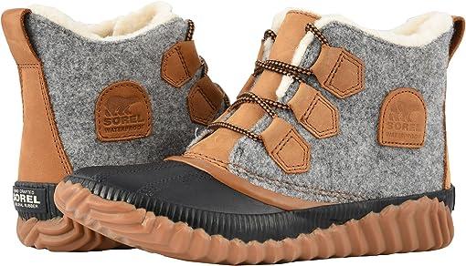 Quarry Leather/Felt Textile Combination