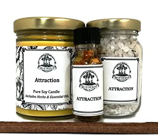Art of the Root Attraction Spell Kit for Love, Money, Prosperity, Abundance & Manifestation Wiccan Pagan Hoodoo Conjure