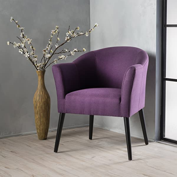 Christopher Knight Home 299474 Cosette Arm Chair Plum