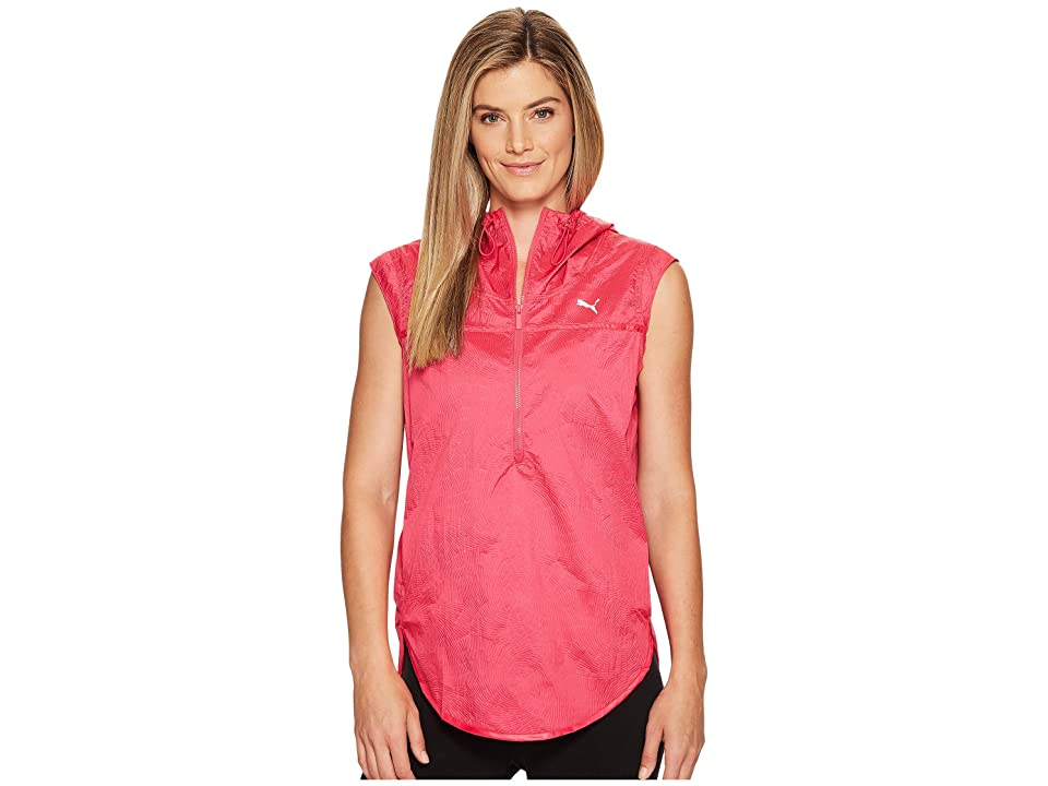 PUMA Culture Surf Cover-Up (Sparkling Cosmo/Swirl Print) Women