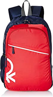 United Colors of Benetton 20 Ltrs Red Laptop Backpack (0IP6MPBKP005I)