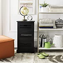 Safavieh American Homes Collection Samara Black 3-Drawer Cabinet