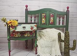 Dormitorio individual estilo mexicano, original y perfecto como habitación de invitados