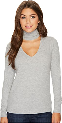 LNA - Brushed Detached Turtleneck