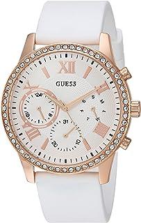 GUESS Women's Rose Gold-Tone Multifunction Watch