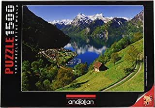 Anatolian Lake Lucerne Switzerland Jigsaw Puzzle (Piece 1500),,
