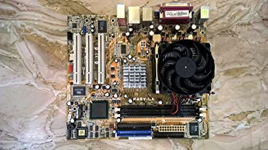 Asus P4GV-LA Intel 845GV Socket 478 Micro-ATX Motherboard w/Video, Audio & LAN