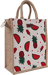 ECOTARA Jute Lunch Bag for Men & Women