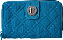 011ce9f048 Vera bradley turn lock wallet pixie confetti