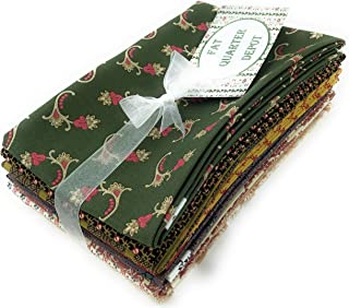 Reproduction Assorted Fat Quarter Bundle Cotton Qty 10 18