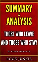Summary & Analysis - Those Who Leave and Those Who Stay: Neapolitan Novels, Book Three