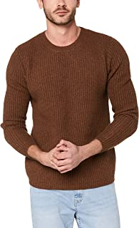 French Connection Men's Wool Blend Crew Knit