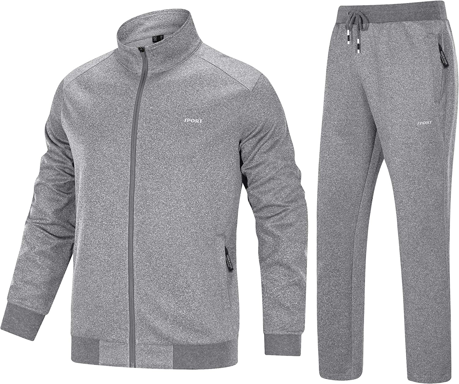 MAGNIVIT Men's Tracksuit 2 Piece Limited time cheap sale Zip Luxury Full Runni Athletic Jogging
