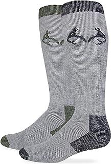 RealTree Men's Merino Wool Blend Socks, 2 Pair