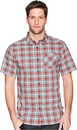 Whithorn Plaid Button Down