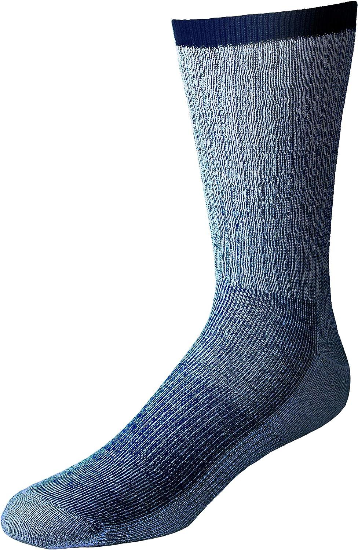1 pr Men/'s XTREME Merino Wool Mid-Volume SKI//SNOWBOARD Socks DK GRAY MED 9-11