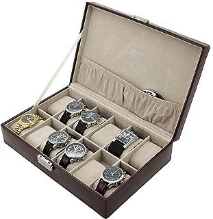 Watch Box Storage Case for 12 Watches