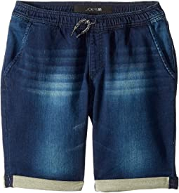 Knit Denim Jogger in Deep Indigo (Big Kids)