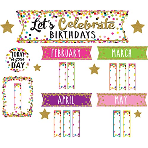 graphic about Birthday Bulletin Board Ideas Printable named Birthday Bulletin Board Decorations: