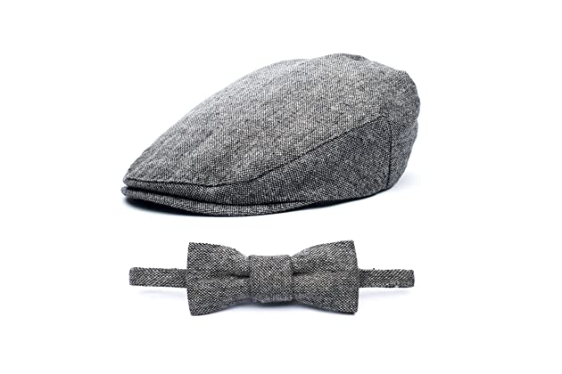 Baby Boy Ring Bearer Pageboy Scally Cap - Flat Ivy Newsboy Tweed Golf Cap  Hat e8c89fa4b8c